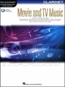 GéNéReuse Instrumental Play-along Film & Tv Musique Pour Clarinette Partitions Livre Audio/-afficher Le Titre D'origine