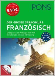 NEU-PONS-Der-grosse-Sprachkurs-FRANZOSISCH-lernen-fuer-Anfaenger-Wiedereinsteiger