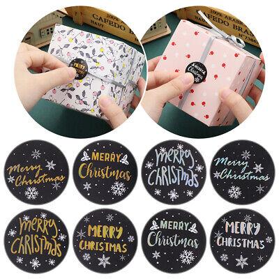 Siegel Label Kennzeichnung der Bronze Christmas Stickers Frohe Weihnachten