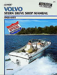 volvo penta sterndrive boat shop service repair manual aq131a aq125a rh ebay com Craftsman Garage Door Opener Manual Store Workshop Manual