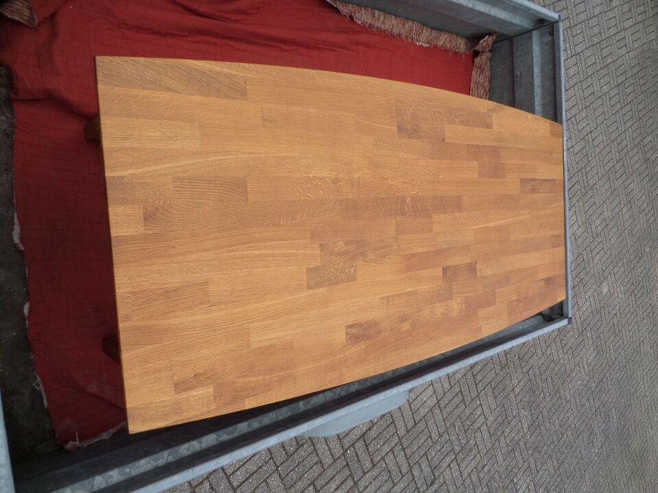 Sofabord, egetræ, b: 77 l: 160 h: 48
