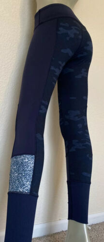 LULULEMON Leggings WUNDER UNDER Pant Sashiko Inkwe