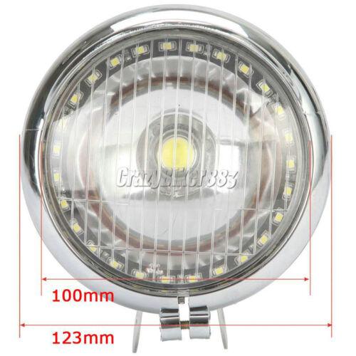 LED Spot Fog Light Angel Eye For Kawasaki Vulcan VN 800 900 1500 1600 1700 2000