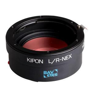 Kipon-Baveyes-Ultra-0-7x-Adapter-for-LEICA-R-lenses-on-SONY-E-FE-NEX-Camera
