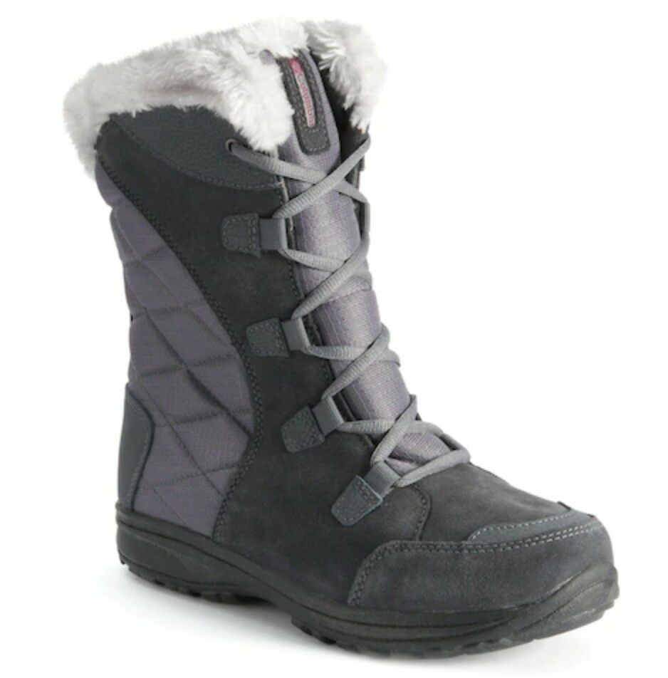 NIB Columbia Ice Maiden II Women's Waterproof Winter Boots SZ 7  Shale