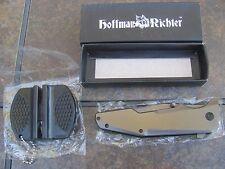 "Hoffman Richter HR-30""Elite""Tactical folder w/speed assist,Titanium coated+bonus"