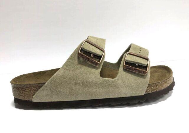 Birkenstock Arizona BS Womens Sandal Suede Leather Taupe 0951303 EUR38 US7 N
