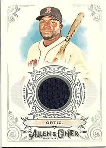 2018-Topps-Allen-and-Ginter-Baseball-Relic-Jersey-Bat-Singles-Pick-Your-Cards