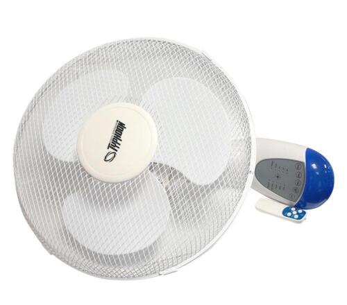 Ventilatore 40cm a Parete Oscillante telecomando Controllo Remoto
