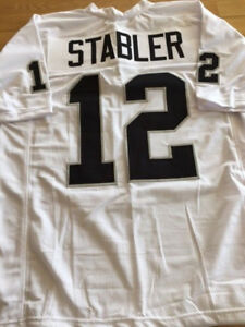 Details about Raiders Ken Stabler custom unsigned jersey
