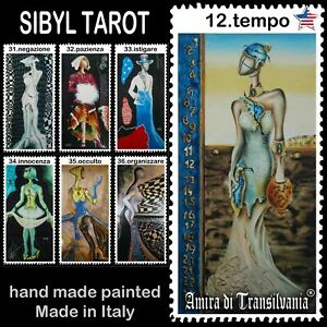 sibyl-tarot-cards-deck-fortune-telling-guide-book-vintage-rare-wicca-oracle-set