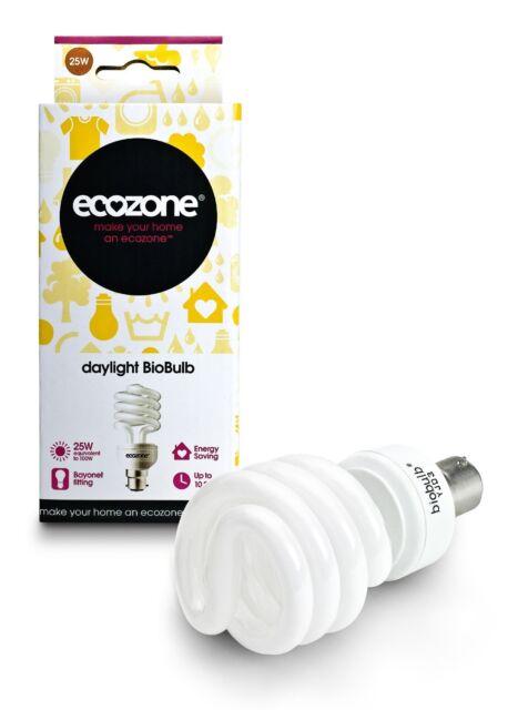 Ecozone Biobulb - 100w Daylight (Bayonet)