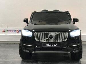 Voiture électrique pour enfant 12V - Volvo XC90 - Noir métal