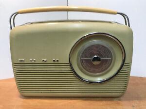 Vintage Bush Transistor Radio TR82/C Tested Fully Working Circa 1960's
