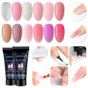 MSRUIOO-10ml-Poly-Quick-Building-Soak-Off-UV-LED-Builder-Extension-Nail-Gel-Tips