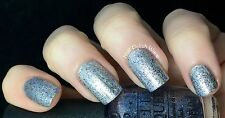 NEW OPI NAIL POLISH Nail Lacquer SHINE FOR ME Shades Of Grey Silver Blue Glitter