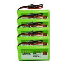 4pcs Cordless Home Phone Battery AAA*2 800mAh 2.4V for Uniden BT-1008 BT-1021