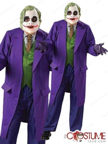 Joker Super Villain Costume Adult DC Comic Dress Up Halloween Fancy Party Outfit