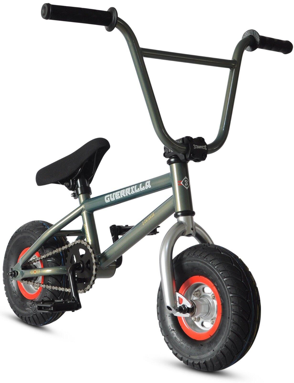 Bounce Guerrilla Mini 10  BMX Bicycle  Freestyle Stunt Bike 1 PC Cranks Fat Tire  wholesale price