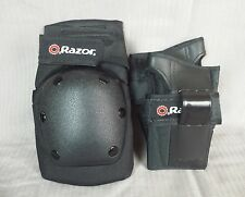 Razor Knee Pads Wrist Guards Black Scooter Bike Sports Protective Gear