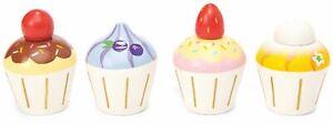DéTerminé Le Toy Van Honeybake Play Cupcakes En Bois Jouet Bn-afficher Le Titre D'origine