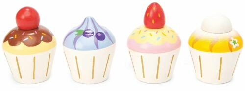 Le Toy Van HONEYBAKE PLAY CUPCAKES Wooden Toy BN