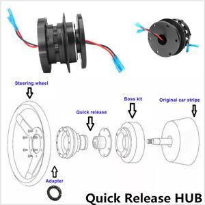 Racing-Car-Steering-Wheel-Hub-Adapter-Quick-Release-HUB-Snap-Off-Kit-Universal