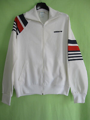 Veste Adidas Blanche Ventex Vintage 80'S Made in France Jacket 168 S | eBay