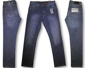 ORIGINAL-Carlo-Colucci-Herren-STRETCH-Jeans-Hose-ENRICO-Blue-Black-7113