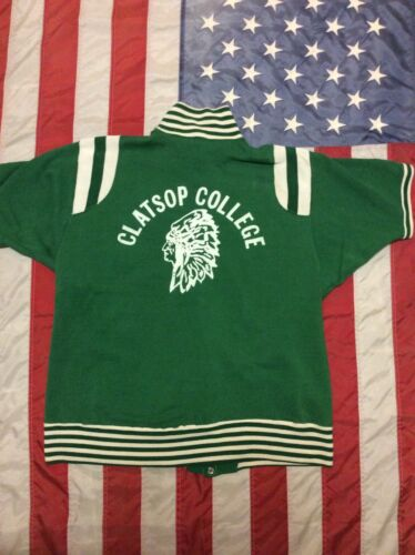 Vtg 50s Athletic College Phys Ed Rugby Shirt Nativ