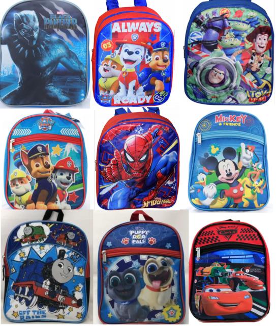 79d148ec02 Little Boys Toddler PreK School Backpack Cute Cartoon Book Bag Kids Children
