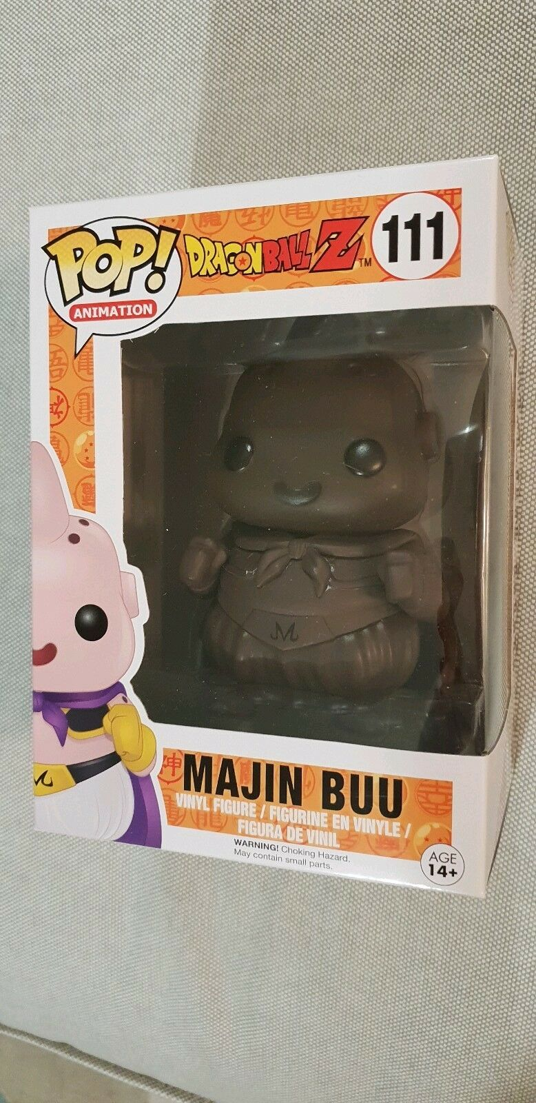 Figurine Funko Pop Dragon Ball Z Majin Buu chocolat 111