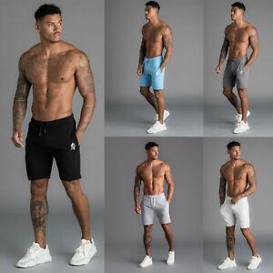 Pantalones-Cortos-Gimnasio-Rey-Jersey-Jogger-Disenador-Pantalones-Cortos-Informales-Chandal-con-el