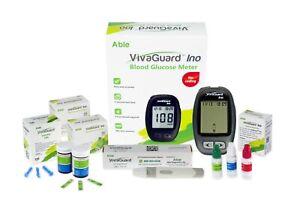 VivaGuard-Blood-Glucose-Meter-Bundle-Includes-100-Strips-100-Lancets-Meter