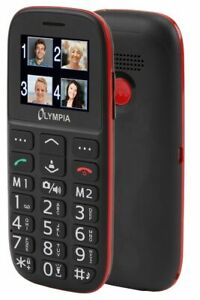 Olympia-Bella-Mobiltelefon-Seniorenhandy-grosse-Tasten-Bluetooth-Ladestation