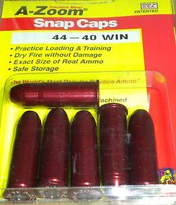 A-Zoom Précision Metal Snap Caps- victoire 44-40 # 16123 6 par paquet neuf!-afficher le titre d`origine EN1To5ur-07153043-412463231