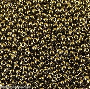 10 g de perles de rocaille Olivine Bronze Lustre 319G taille 11 V4t34R58-08060611-209160607