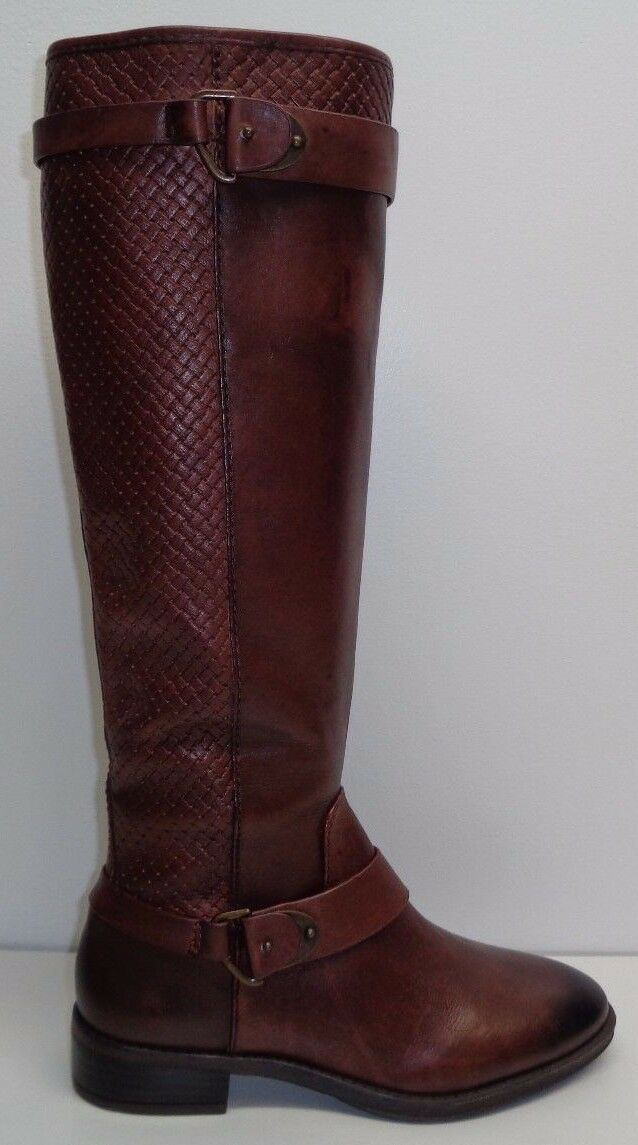 Antonio Melani Taille 6.5 M Eunice Woodberry Cuir Bottes d'équitation pour femme chaussures