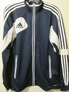 Details about Adidas Condivo 12 Training Jacket Navy Blue Soccer Adult S (Youth XL Womens M L)