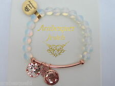 GENUINE ARABESQUES Opalite bracelet Live Laugh Love Sterlina Milano Sentimental