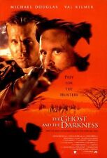 """GHOST AND THE DARKNESS 1996 Original 2 Sided 27x40"""" Movie Poster Douglas Kilmer"""