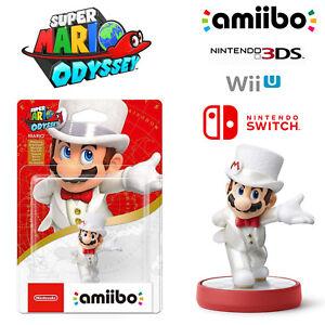 Mario White Outfit Amiibo Super Mario Odyssey Series Nintendo