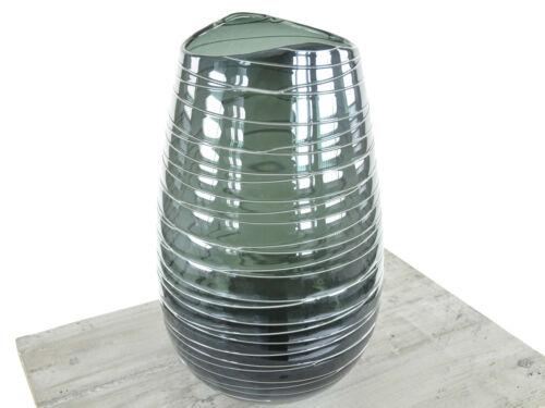 blau Design Vase Stripe 8