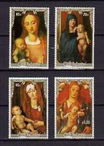 16295) Cook Isl. MNH New 1988 Christmas Durer 4v
