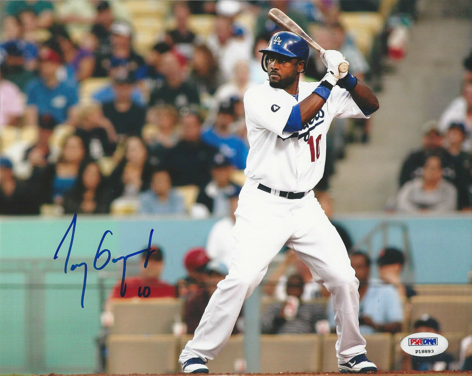 Tony Gwynn Jr. Los Angeles Dodgers Signed 8x10 Photo - PSA/DNA # P18893