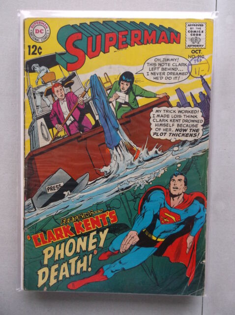 Superman Vol. 1 (1939-2011) #210 VG-