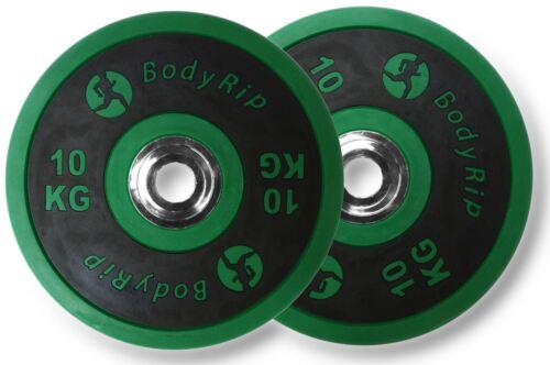 Bodyrip 5.1cm Olympische Elite Wettbewerb Stoßfänger Teller PU Gewichte