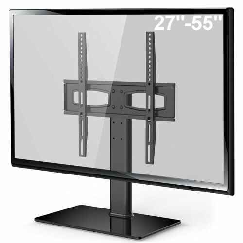 """50/"""" FITUEYES Universal TV Stand//Base with tabletop Mount  for 27/"""""""