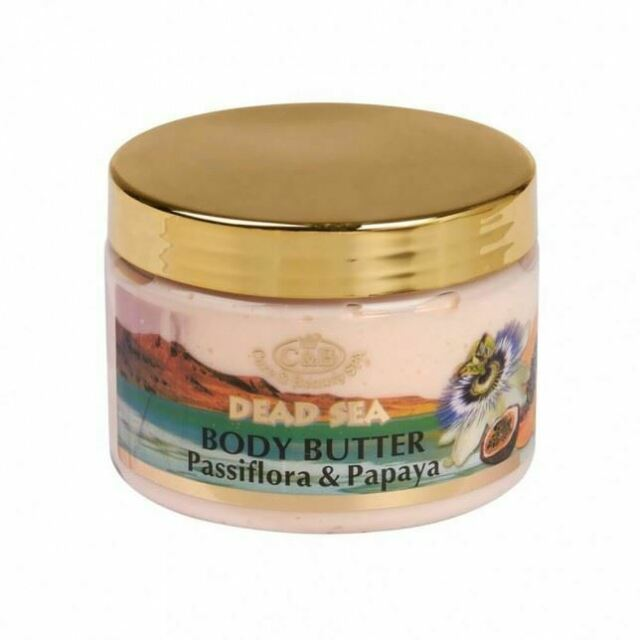 Dead Sea,C&B, Care & Beauty, Body Butter Papaya Passion Fruit, 300ml