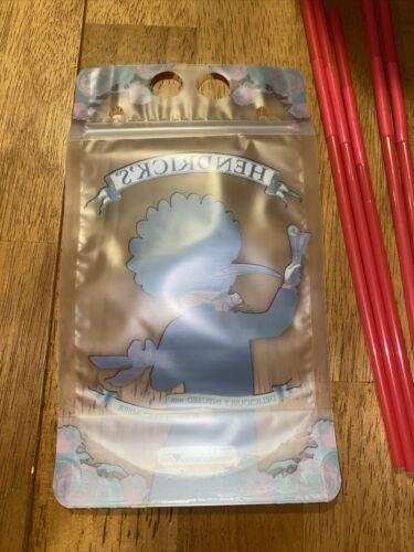 Hendricks Gin Drink Pouches W//straws 5
